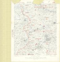 Second Army area (east) : sketch map, showing supposed location of enemy's forces on 15th February 1917