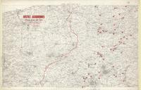 [Second] Army area map, no. 9 : hostile aerodromes opposite Second Army front, June 6th 1918 (from air photographs)