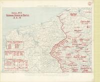 1:250,000 - North West Area : serial no. 11, German order of battle 3.5.18