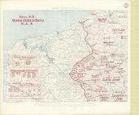 1: 250,000 - North West Area : serial no. 13, German order of battle 10.5.18