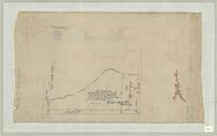 Plan of survey of six acres of land at the north west corner of lot No11 3rd concession of Barton