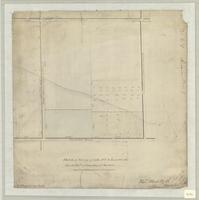 Sketch of survey of lots nos. 10, 11 and 12 in the Fourth Conn. of Township of Barton