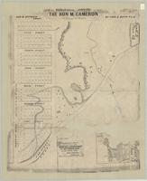 [Part of the Beasley Farm in the City of Hamilton] as laid out [into] lots for the Hon. M. Cameron