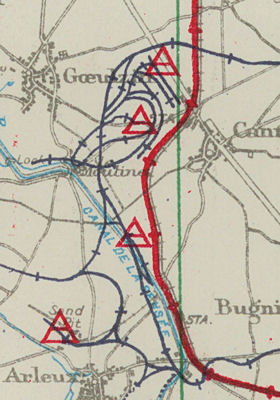 Railway and Ammunition Dump Maps