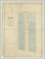 Plan shewing the subdivision of part of lot no 8 of Allan W. MacNab's survey of part of lot no 17