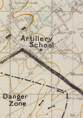 Training Area Maps