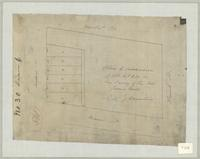 Plan of subdivision of lot, 4, 6 & 10 in the survey of the late James Mills, City of Hamilton