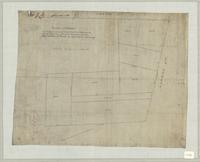 Plan of survey of subdivision of lots 3 & 4 on Hannah and Cherry Streets known as the Brick Yard Track in Springers Survey