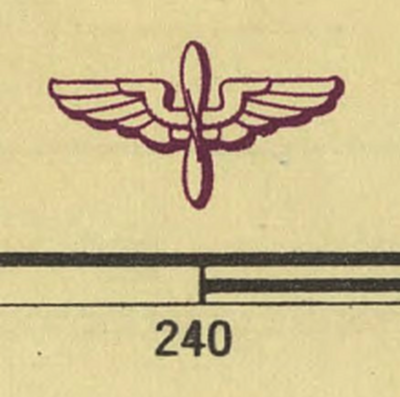 World 1:1mil AAF Aeronautical Charts