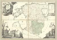Livland, nach der Eintheilung Heinrich des Letten und zu den Zeiten der Bischöfsen u Ordensmeister