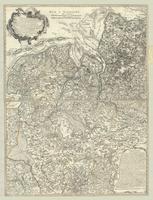 Basse Partie de la Westphalie, contenant la Principaute d'ost-frise la Partie inferieure des Eveches de Munster et D'osnabruck