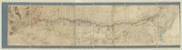 Carte du cours de la riviere de lauter depuis St. germain Jusqu'au Rhin ou Soue les villes de Wissembourg et de Lauterbourg