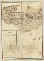 Carte contenant l'etendue de la tourneé que Monsieur, le Comte de Graville a fait en partant de Perpignan [sheet 1]