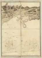 Carte contenant l'etendue de la tourneé que Monsieur, le Comte de Graville a fait en partant de Perpignan [sheet 2]