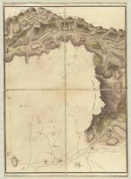 Carte contenant l'etendue de la tourneé que Monsieur, le Comte de Graville a fait en partant de Perpignan [sheet 3]