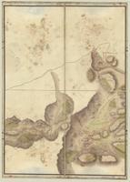 Carte contenant l'etendue de la tourneé que Monsieur, le Comte de Graville a fait en partant de Perpignan [sheet 5]