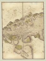 Carte contenant l'etendue de la tourneé que Monsieur, le Comte de Graville a fait en partant de Perpignan [sheet 6]