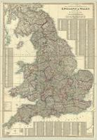 Cruchley's improved geographical companion throughout England & Wales including part of Scotland