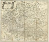 Generalkarte von Polen, Litauen, und den Angraenzenden laendern, Nach Zannoni, Folin, Uz, Peau.