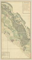 Carte des Bords du Rhin depuis Basle jusqu'a Rheinau. [Leaf 9 of 11]