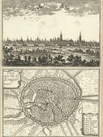 Brvgge ; Plan de la Ville de Bruges