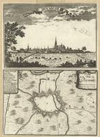 Dixmvde ; Plan de la Ville de Dixmude
