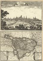 Gand ; Plan de la Ville et Citadelle de Gand