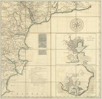 A map of the County of Devon with the City & County of Exeter : [southeast sheet]