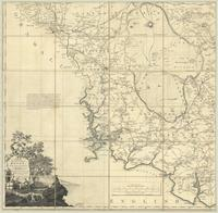 A map of the County of Devon with the City & County of Exeter : [southwest sheet]