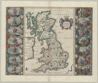 Britannia prout divisa fuit temporibus Anglo-Saxonvm, præsertim durante illorum heptarchia