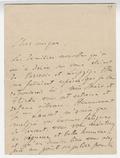 Letter, Franz Liszt to [Hans von Bulow]