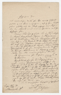 Letter, Dr. S. Jadassohn to unnamed correspondent