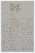 Letter, Franz Liszt to Haslinger