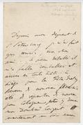Letter, Liszt to Adolf Henselt