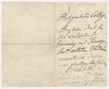 Letter, Franz Liszt to [Sir Alexander Mackenzie]