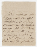 Letter, Franz Liszt to unknown