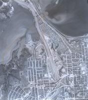 [Hamilton, Saltfleet Township, and Queen Elizabeth Way corridor, 1966-04-01] : [Flightline 664-HAM-DUN-Photo 16]