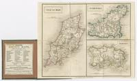 Isles of Man, Jersey & Guernsey. London, Published by Chapman & Hall, No. 186 Strand. Engraved by S. Hall.