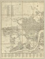 Cary's new and accurate plan of London and Westminster, the borough of Southward and parts adjacent... : [sheet 1]