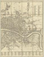 Cary's new and accurate plan of London and Westminster, the borough of Southward and parts adjacent... : [sheet 2]