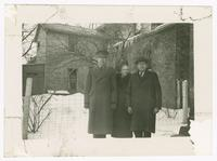 1942-03, Stuart Ivison with Mother and Father, London, Ontario