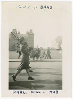 1943, C.W.A.C. [Canadian Women's Army Corps] Band, Parliament Hill, Ottawa, Ontario