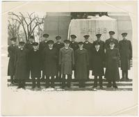 [1943-1945?], Group of Military Chaplains including Stuart Ivison
