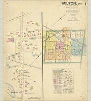 Milton, Ont. : [map] 1