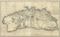 A topographical map of the isle of Minorca