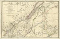 A new map of the province of lower Canada, describing all the seigneuries, townships, grants of land, &c.