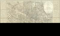 Plan routier de la ville de Paris, divisé en XII arrondissements ou mairies et en 48 quartiers