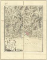 Carta Militaire di Genova e suoi contorni posizioni elevate che nel 1747, furono munite di trinceramenti...