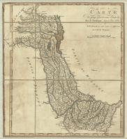 Carte des pays ajoûtés aux Etats du Roi de Sardaigne, depuis l'an 1682.