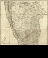 A map of the Peninsula of India from the 19th degree north latitude to Cape Comorin